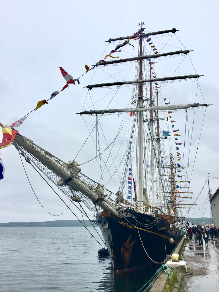 Tall ships, Pictou, Nova Scotia