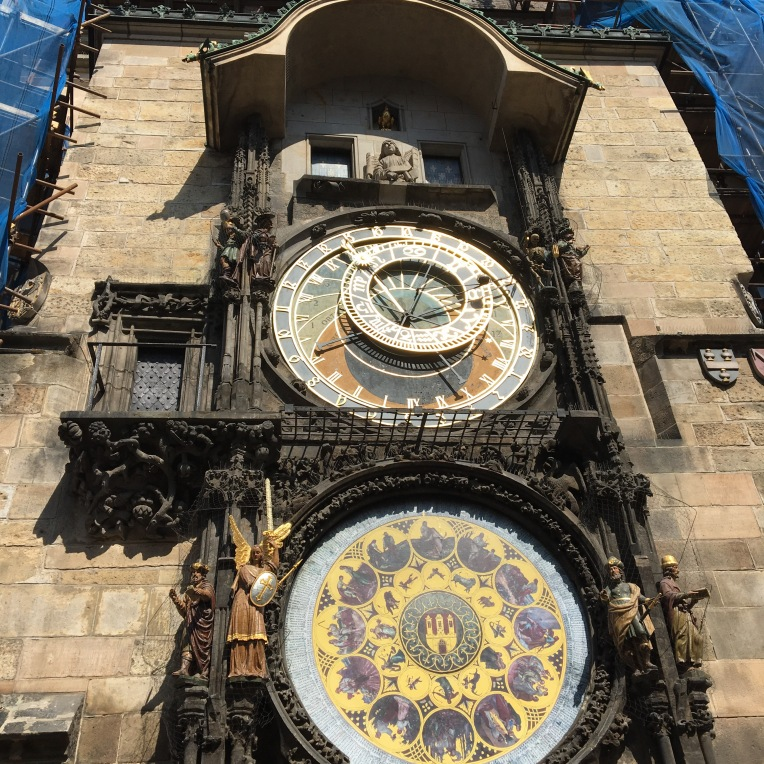 Astronomical Clock on Old Town Hall from the 1400's